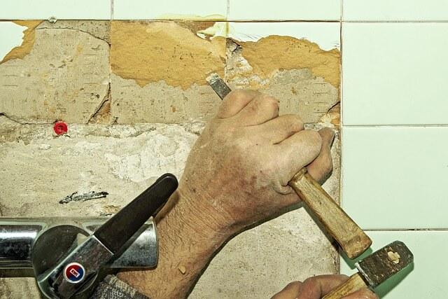 שיפוץ בתים, פטיש, קירות