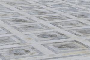 רצפה מצוירת, טקסטורה מקושקשת